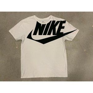 Nike Heavy Graphic Large Swoop Logo Athletic Cut L